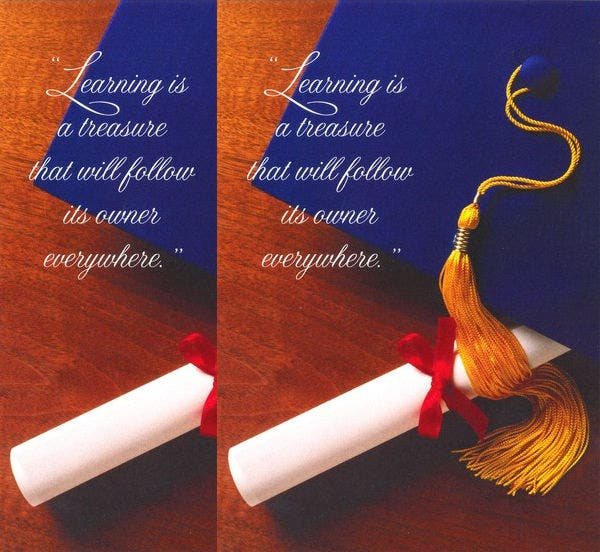 Christian Graduation Card
