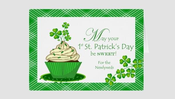 st patricks day greeting card
