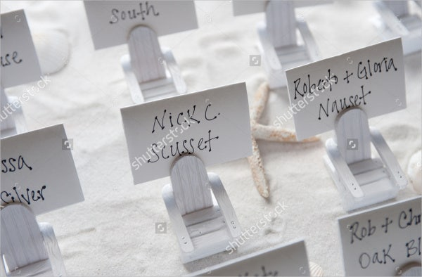 unique wedding place cards1