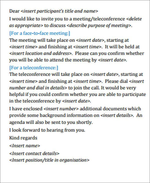 formal business meeting invitation2