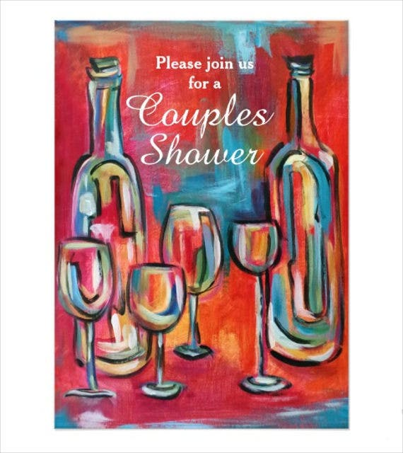 wedding shower party cards