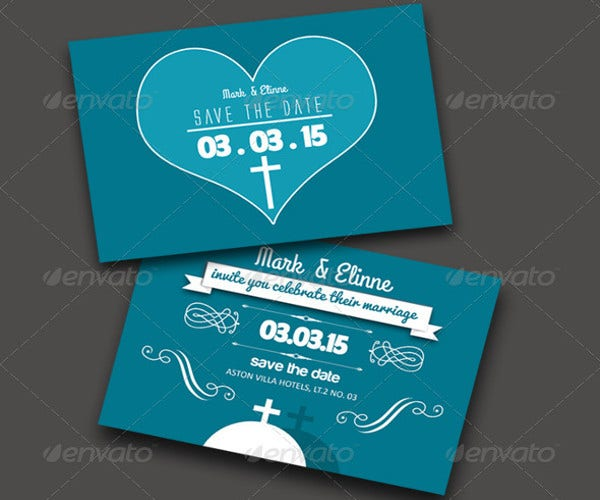 -Wedding Christian Invitation Card