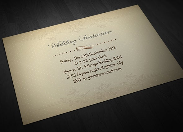 personal invitation wedding cards