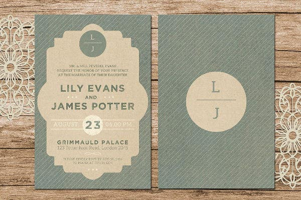 printable wedding invitation cards