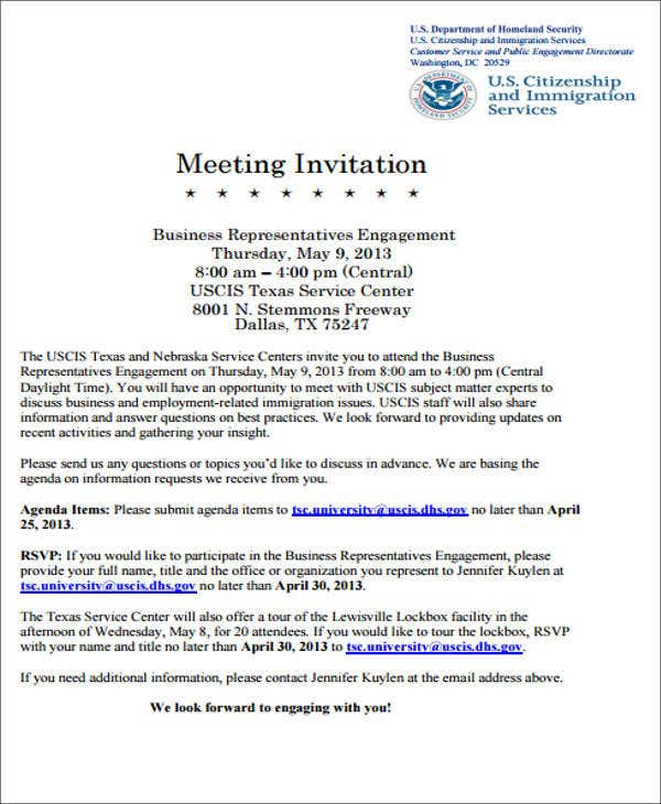 Meeting Invite Template Grude Interpretomics Co