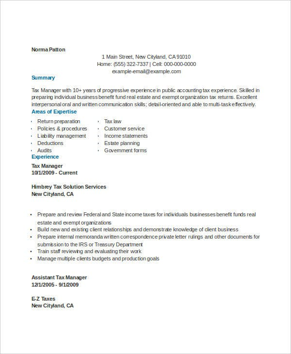 accountant resume format cpa resume entry level accountant resume