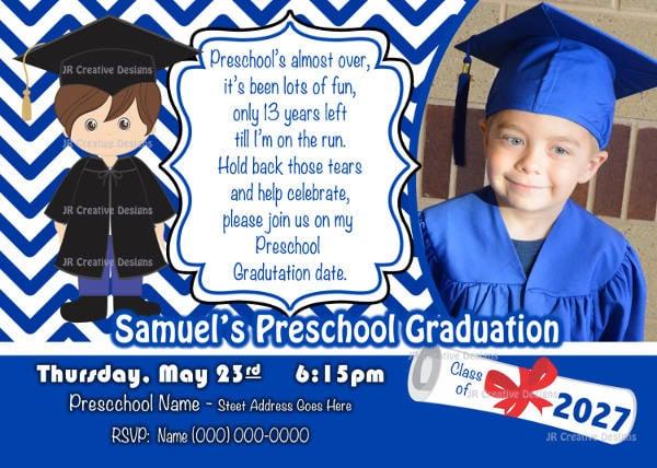 43 printable graduation invitations free premium templates preschool graduation invitation preschool graduation invitation wording filmwisefo