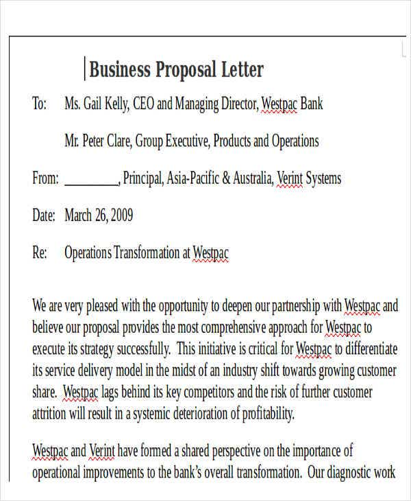 business proposal letter 44 business letter format free amp premium templates 13306 | Business Proposal Letter Doc