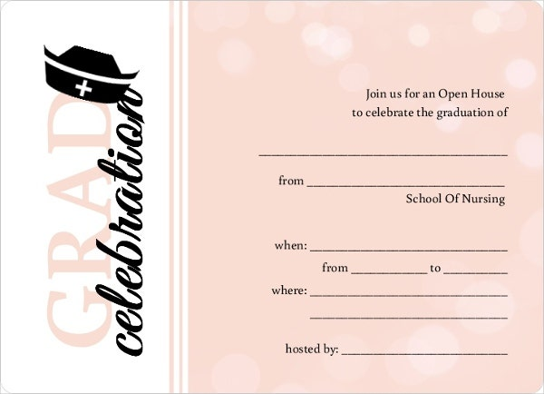 picture regarding Printable Graduation Announcements named 42+ Printable Commencement Invites - PSD, AI, Term Totally free