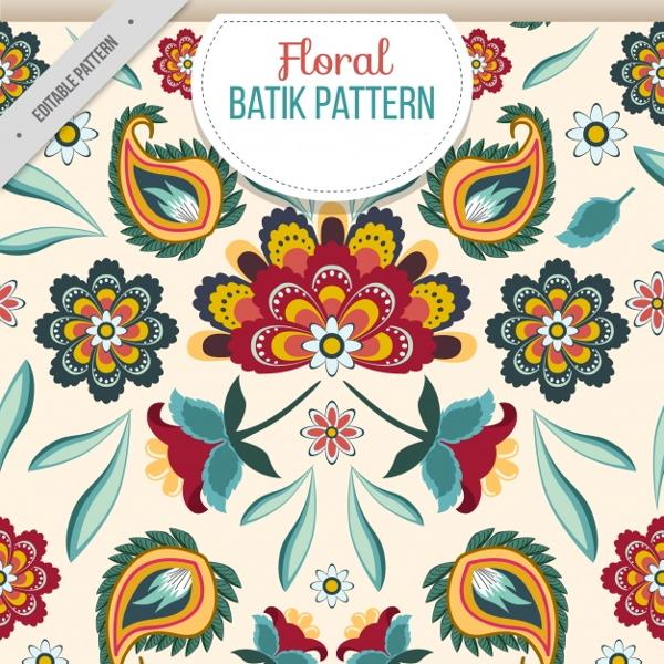 batik-floral-pattern