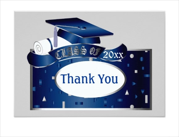 sample graduation thank you invitation