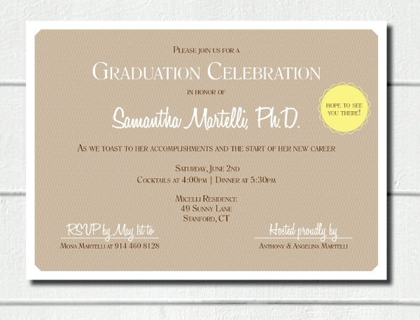 printable graduation diploma invitation
