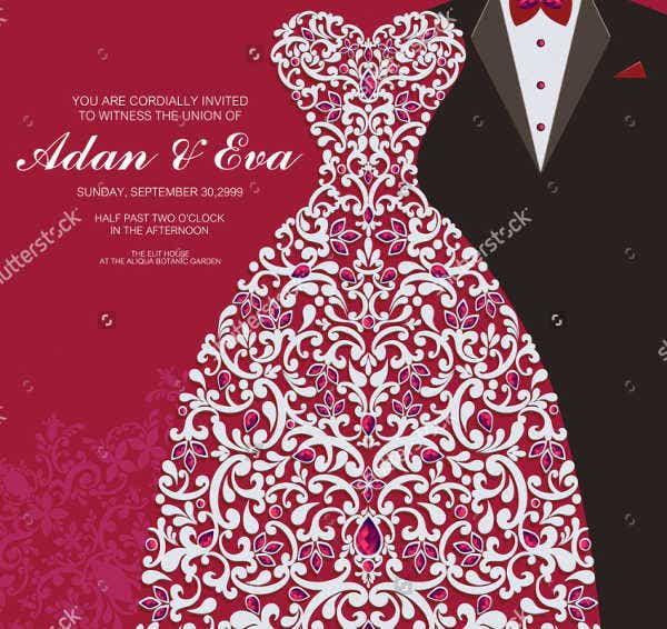 -Creative Design for Wedding Card