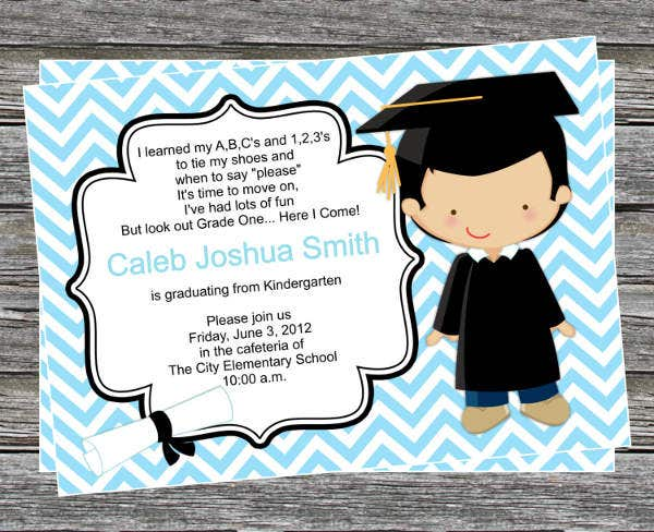 39+ Printable Graduation Invitations | Free & Premium Templates