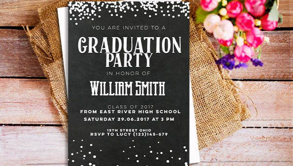 photo relating to Free Printable Graduation Invitations identify 42+ Printable Commencement Invites - PSD, AI, Phrase Cost-free