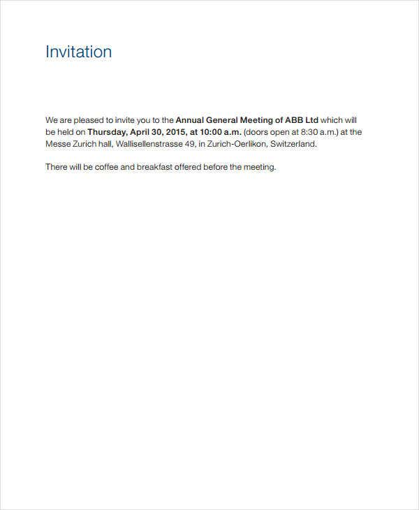 annual business meeting invitation1