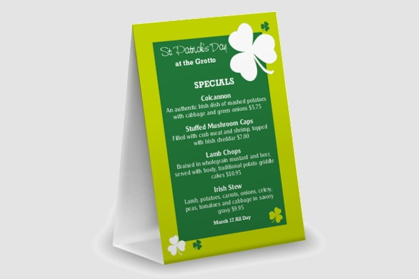 st-patricks-day-special-menu