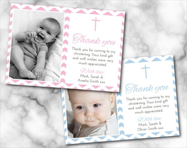diy-christening-thank-you-card