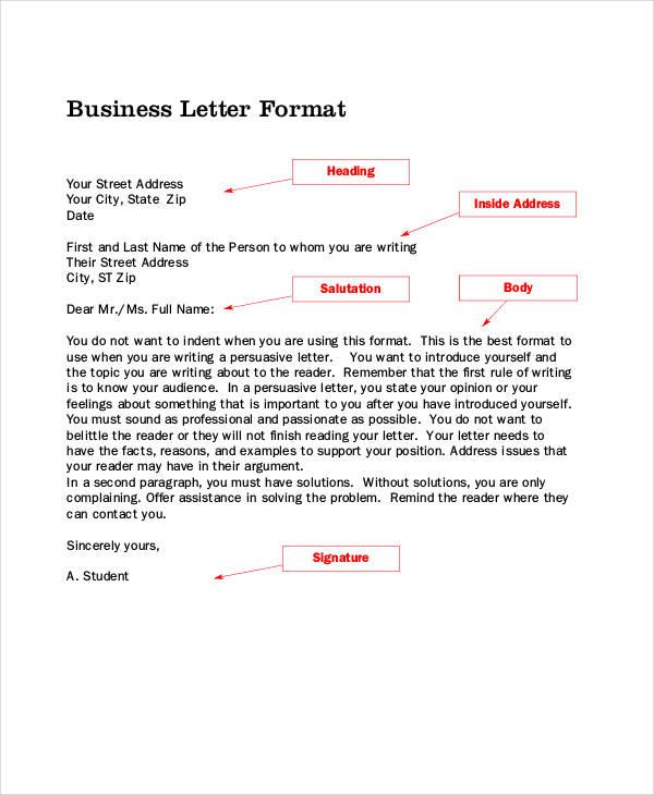 business complaint letter format1