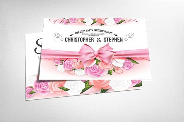 wedding shower response cards