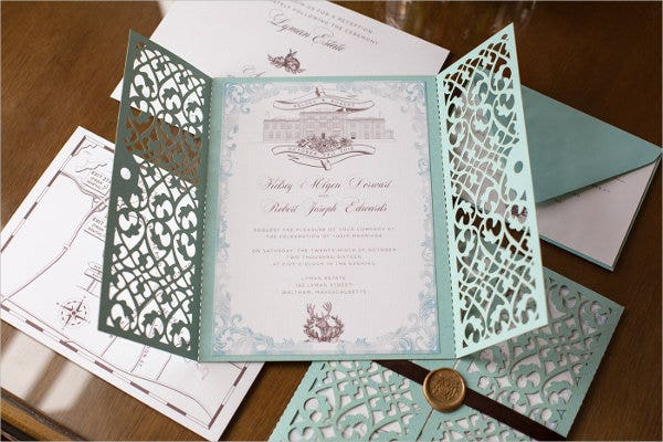 wedding dinner response cards