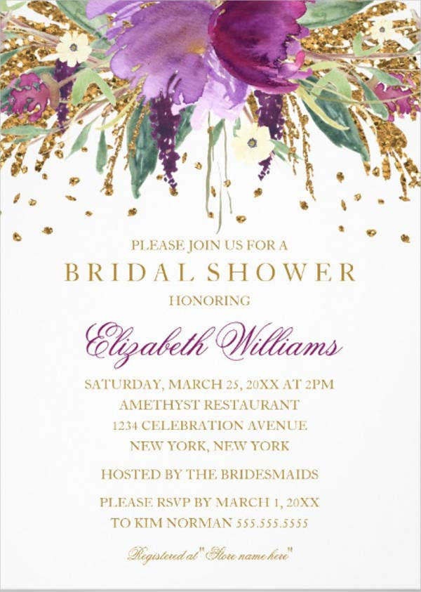 sparkling-floral-bridal-shower-invitation