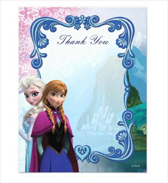 frozen-fever-thank-you-card