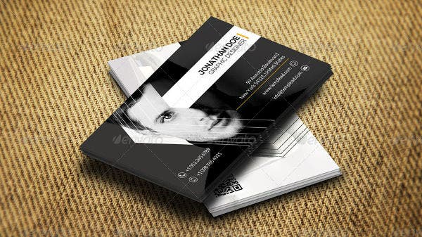business card examples free premium templates. Black Bedroom Furniture Sets. Home Design Ideas