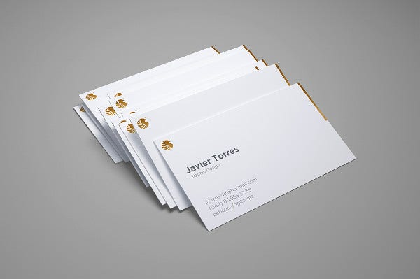 -Free Professional Business Card