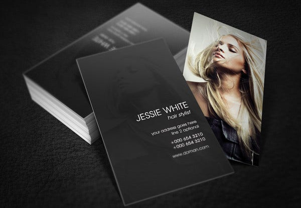 Business card examples free premium templates free hair stylist business card colourmoves