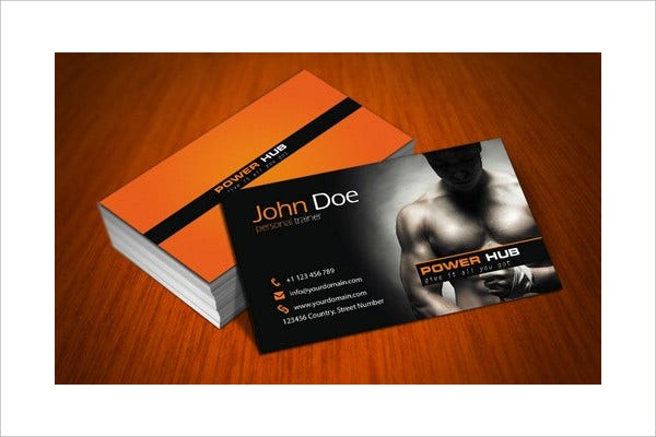 -Personal Trainer Business Card