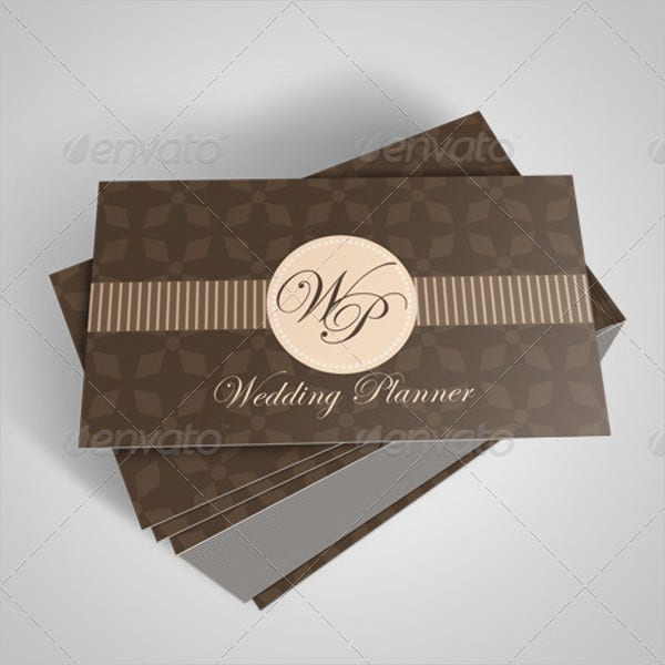 wedding planner business card1