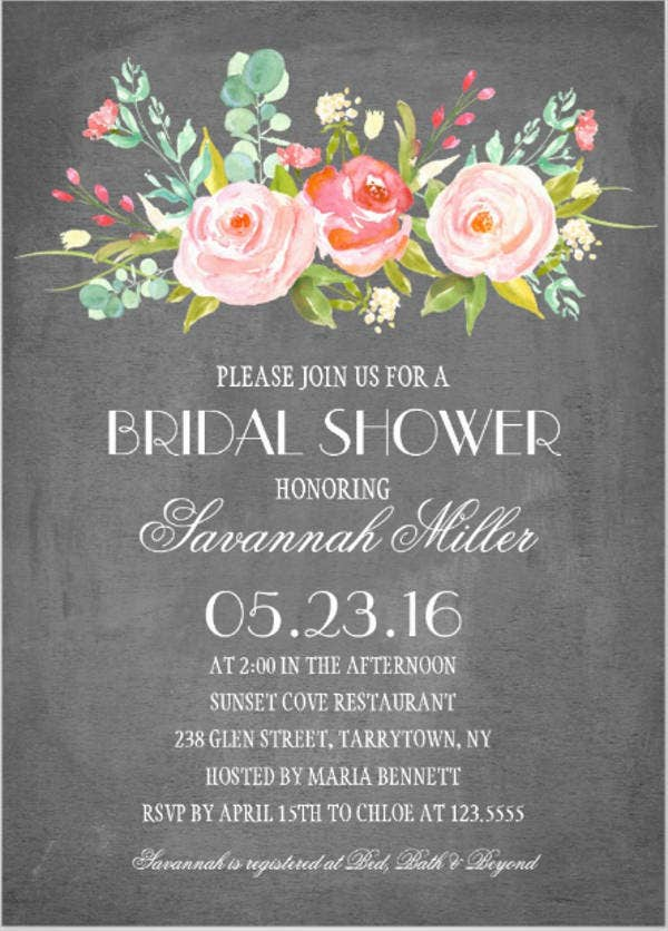 chalkboard-bridal-shower-floral-invitation