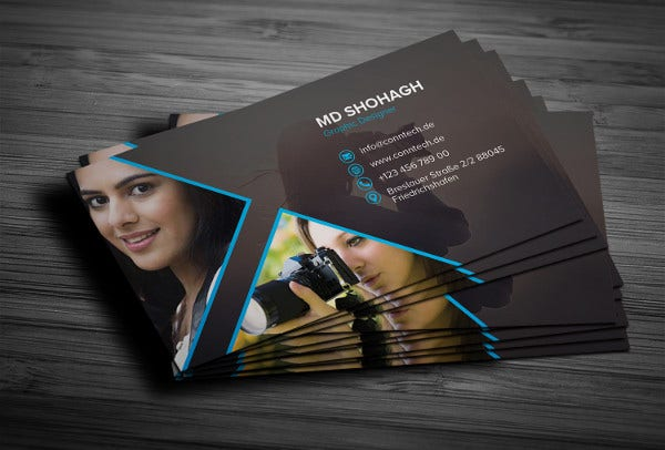 -Free Photography Business Card