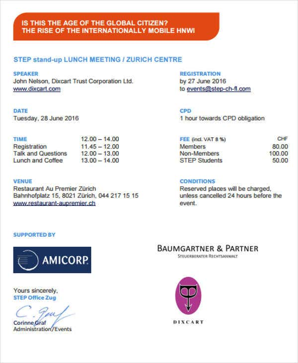 business lunch meeting invitation2