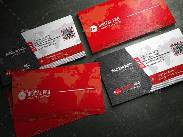 -Clean & Modern Business Card
