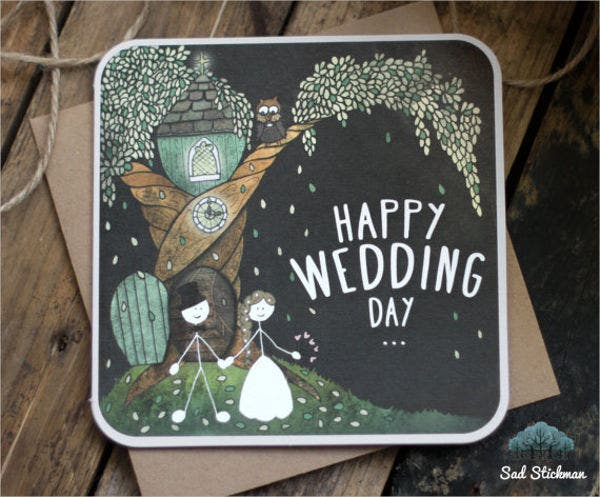 wedding gift congratulations cards