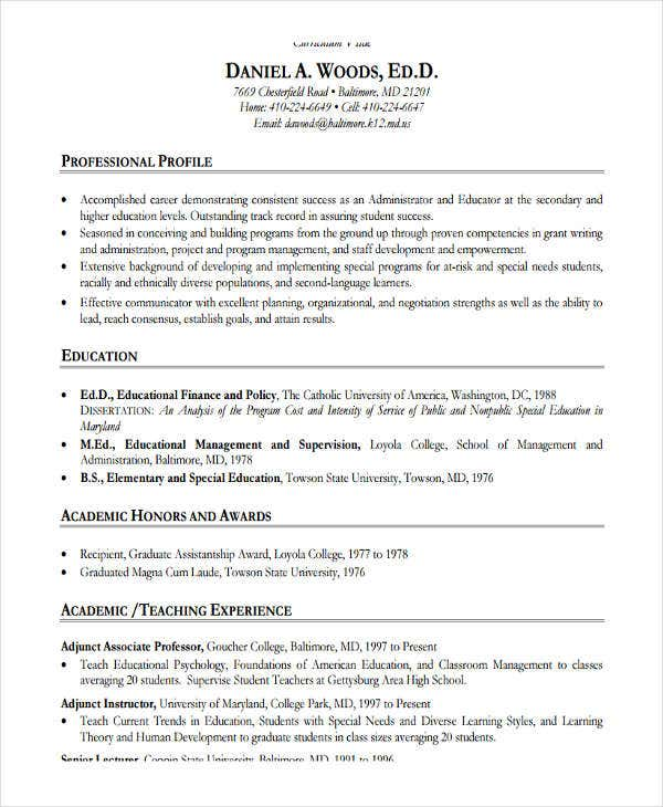 high school teacher job resume template1