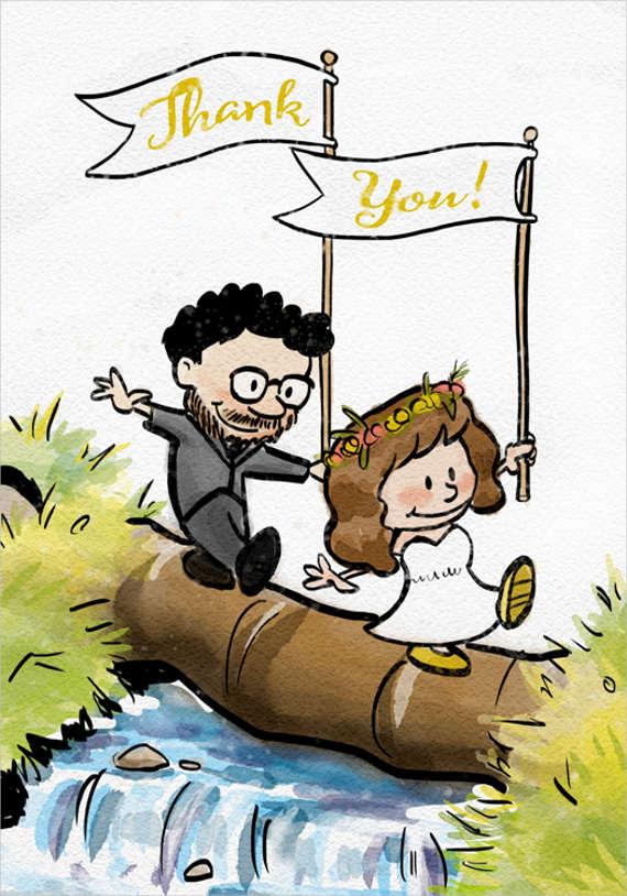 modern-thank-you-wedding-card