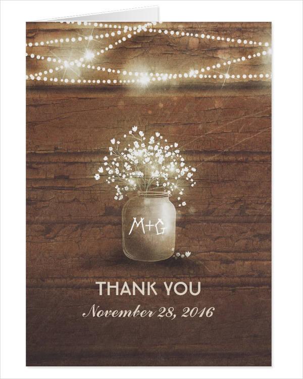 rustic-thank-you-wedding-card