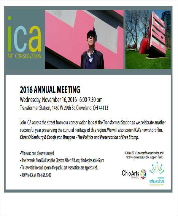 company annual meeting invitation1