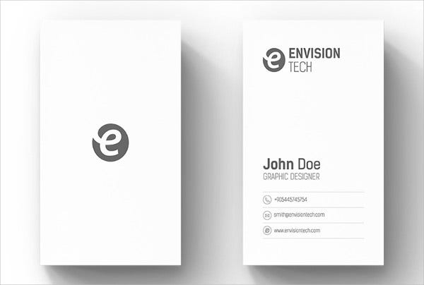 Business card examples free premium templates white minimal business card colourmoves