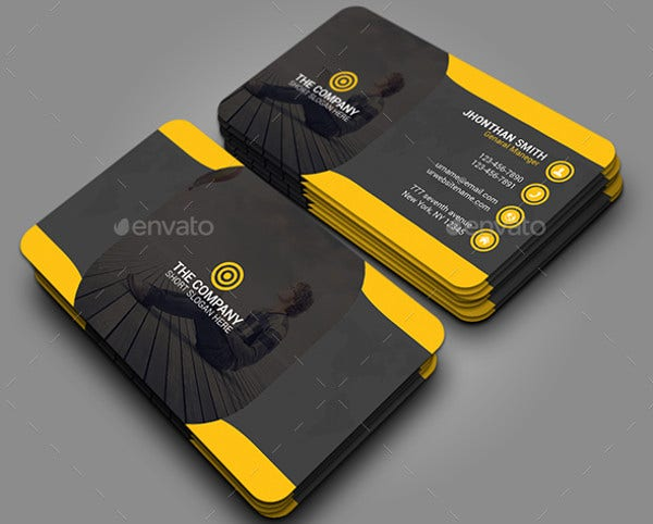 Business card examples free premium templates sample student business card reheart Gallery