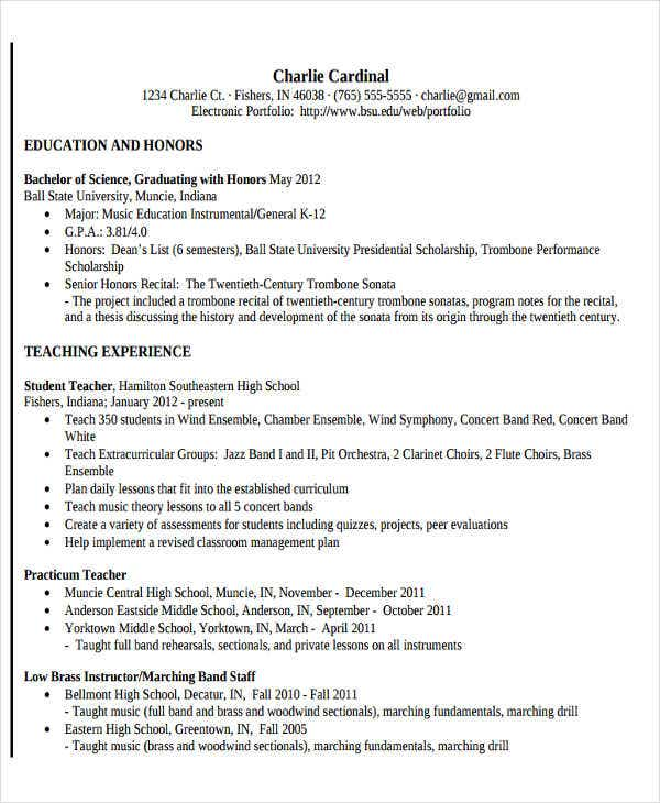 music teacher resume format1