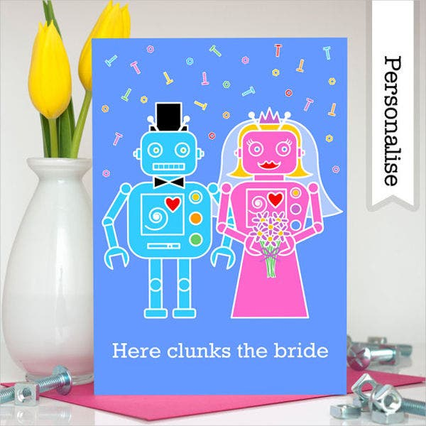 personalized funny wedding cards