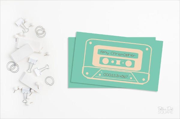 sample networking business card