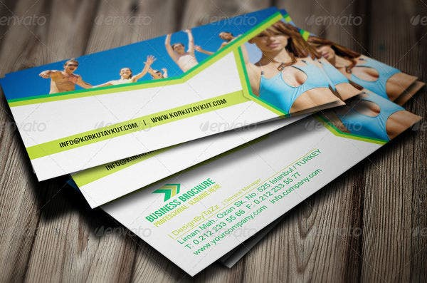 Corporate Holiday Business Card
