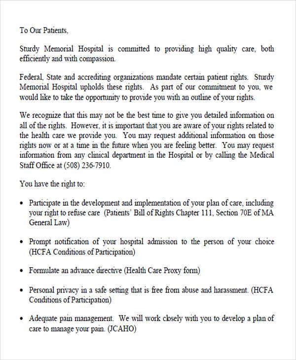 medical bill complaint letter