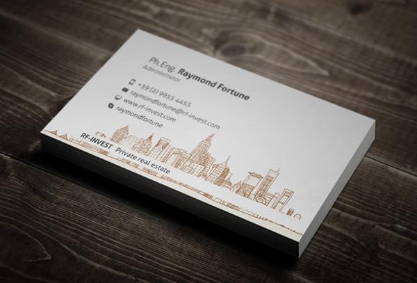 -Real Estate Investor Business Card
