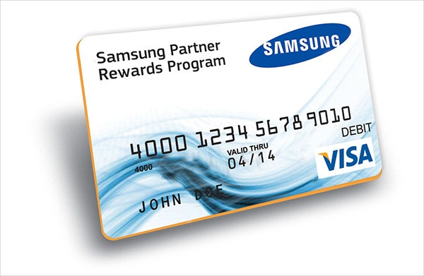 debit rewards card
